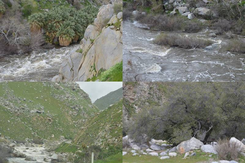 Photos of the Kern River Gorge by Sharon Bamber