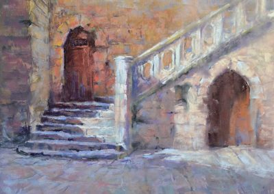 The Steps of the Chapel