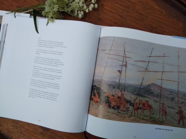 1000 Miles Walking & Painting the Way of St James by Sharon Bamber pages 122 & 123